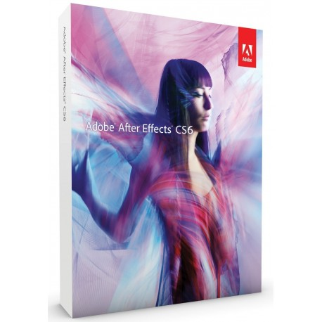 Adobe After Effects CS6 Mac DVD