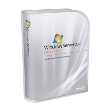 Microsoft Windows Server 2008 Enterprise R2 with 10 CALs OEM (Branded)
