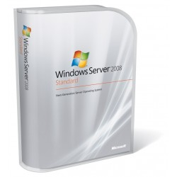 Microsoft Windows Server 2008 Standard R2 64 bit 5 CALs OEM (Branded)
