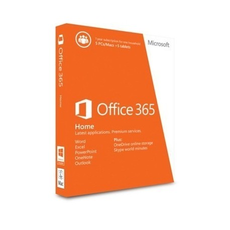 Microsoft Office 365 Home Premium 1Yr Sub