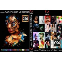 Adobe CS6 Master Collection V6 Windows DVD