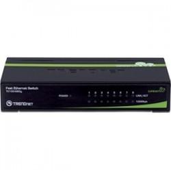TRENDnet 8-Port 10/100Mbps GREENnet Switch
