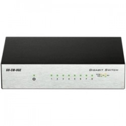 D-Link 8-Port Gigabit Unmanaged Metal Desktop Switch